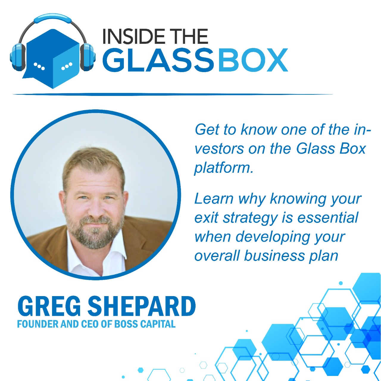 Law Podcast Box - Glass